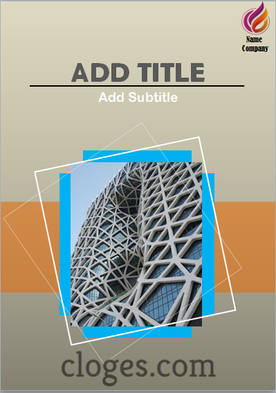Book Cover Template For Microsoft Word